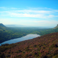 View of glacial valley, Slainte Ireland Tours